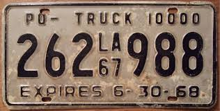 File:LOUISIANA 1967 10,000lb PRIVATELY OWNED COMMERCIAL TRUCK Plate ... Dmv Classic Vehicle Plate Beef Farmer Car Tag License Plates Cattlemen Truck Tag Deck Plates 1963 Idaho License Brandywine General Store 1974 Wyoming Alberta 1933 Bclass Commercial Truck Plates With Origi Flickr More The Auto Blonde Car Tahiti Fileillinois B Platejpg Wikimedia Commons Just Married Printed In Rear Window Of Yellow Pickup Truck With Luv Custom Vanity 2018 Jeep Wrangler Forums Jl Jt