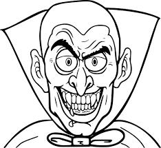 Coloriage Vampire Halloween à Imprimer Sur COLORIAGES Info
