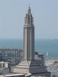 le havre vu de la tour de l hôtel de ville vers l ouest le