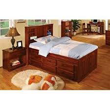 Captains Bed 6 Drawers