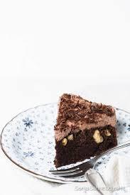 einfacher schneller veganer schokoladenkuchen veganer