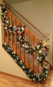 560 Best Christmas Stair Decor Images On Pinterest | Christmas ... How To Hang Garland On Staircase Banisters Oh My Creative Banister Christmas Ideas Decorating Decorate 20 Best Staircases Wedding Decoration Floral Interior Do It Yourself Stairways Southern N Sassy The Stairs Uncategorized Stair Christassam Home Design Decorations Billsblessingbagsorg Trees Show Me Holiday Satsuma Designs 25 Stairs Decorations Ideas On Pinterest Your Summer Adams Unique Garland For
