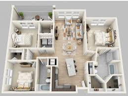 Design Stunning 3 Bedroom Apartments In Orlando Luxury 1 2 3
