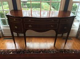 Hand Stripped Refinished Dining Buffet After Antique Room