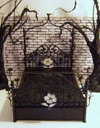 gothic bed gothic decoration pinterest gothic bed and gothic