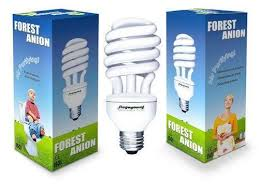 anion negative ion air purifying light bulb health special