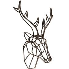 Hobby Lobby Wall Decor Metal by Bronze Deer Head Metal Wall Decor Hobby Lobby 1294792