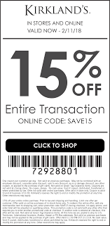 Kirklands Coupons - 15% Off At Kirklands, Or Online Via Promo Code ... Kirkland Top Coupons Promo Codes The Good And The Beautiful Coupon Code Coupon Wwwkirklandssurveycom Kirklands Customer Coupon Survey Up To 50 Off Christmas Decor At Cobra Radar Costco Canada Book 2018 Frys Electronics Black Friday Ads Sales Doorbusters Deals Pin By Ann On Coupons Free 15 Off Or Online Via Promo Allposters Free Shipping 20 Ugg Store Sf Green China Sirius Acvation Codes Pillows 2