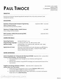 Electrical Engineer Resume New Mechanical Template Inspirational Of Mech Medium Size
