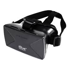 iBlue Universal 3D Virtual Reality VR Headset 3D Private Theater