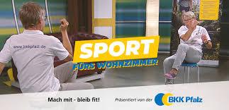 bleib fit mach mit sport fürs wohnzimmer bkk pfalz