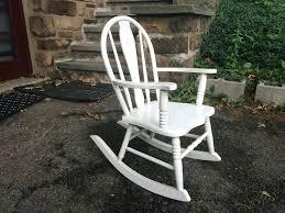 Rocking Chair Cushions Walmart Canada by Rocking Chair Outdoor Cushion Sets Modren White Wooden Rocking