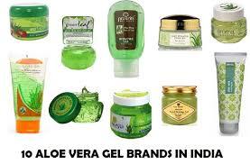10 Aloe Vera gel brands available in India
