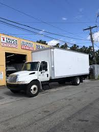 100 Atlantic Truck Sales International 24 Foot Non CDL Automatic Box TA Inc