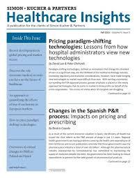 healthcare insights fall 2011 simon kucher partners