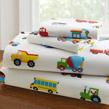 100 Kids Truck Bed Olive Trains Planes S Toddler Ding Sheet Set