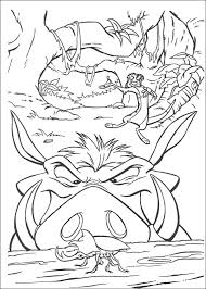 Lion King Coloring Pages Kids Printables