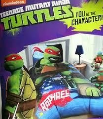 Ninja Turtle Twin Bedding Set by Twin Full Size Comforter Teenage Mutant Ninja Turtles Reversible