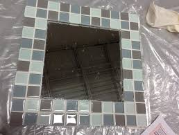 Mirror Tiles 12x12 Home Depot by Beveled Mirror Tiles 3d Effect 13 Facets Diamond Decorative Silver