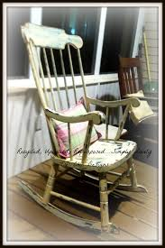 Recycled, Upcycled, Repurposed ....Simply Lovely Tre' Chic Designs ... Vintage Mid Century Cottage Wooden Detail Rocking Chair Chairish Chair Next To Staircase In 18th Century Cottage Style Home The Senior Care Cottages Home Facebook Dc4101618 2 Asheville Adult Chairs Bob Timberlake Old Wooden Rocking And Spning Wheel Stairs The Love This Lemon Yellow Traditional By Little Classic White Front Porch Decorating Lettered Southern Style Mount Dora House Rental Historic Mt Belham Living Seacrest All Weather Resin Set Vinterior Hand Painted Kids Rocker Childs Etsy