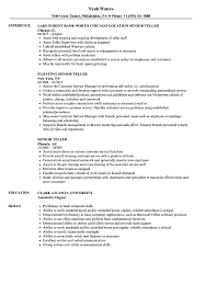 Senior Teller Resume Samples   Velvet Jobs Bank Teller Resume Example Complete Guide 20 Examples 89 Bank Of America Resume Example Soft555com 910 For Teller Archiefsurinamecom Objective Awesome Personal Banker Cv Mplate Entry Level Sample Skills New 12 Rumes For Positions Proposal Letter Samples Unique Best Entry Level Job With No Experience