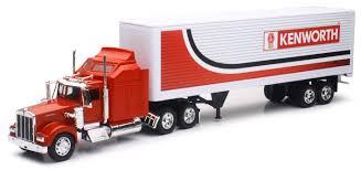 100 Toy Kenworth Trucks 132 Scale W900 Truck WDry Van Or Reefer Trick