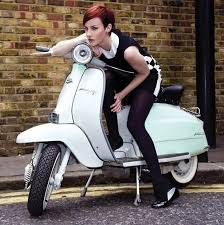 347 Best Scooters Girls Images On Pinterest
