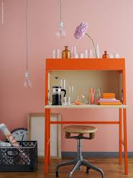 ikea ps 2014 bureau ikea desk orange home furniture decoration