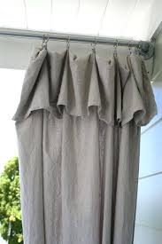 Light Grey Curtains Ikea by Grey Curtains Ikea Fold Over Top Of Drop Cloth For A Pretty Ruffle