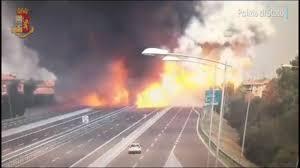 100 Tanker Truck Explosion Video Shows Gigantic Deadly Tanker Truck Explosion In Bologna Italy