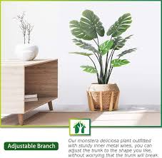 crosofmi artificial monstera deliciosa tree 37