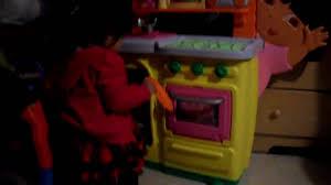 Dora Kitchen Play Set Walmart by Luna Y La Cocina De Dora Youtube