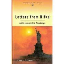 Letters from Rifka Karen Hesse Book Reviews