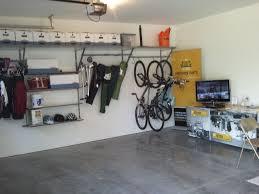 Ceiling Bike Rack For Garage by Above Garage Door Storage Diy Ceiling Loversiq