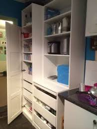 Ikea Pantry Hack Kitchen Pantry Using Ikea Billy Bookcase by Ikea Bookcase Hack With Pax Doors New Kitchen Pantry Decor