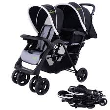 Costway: Costway Foldable Twin Baby Double Stroller Kids Jogger ... Dot Buggy Compactmetro Ready Philteds Childrens Toy Baby Doll Folding Pushchair Pram Stroller Cybex Eezy Splus 2019 Lavastone Bblack Buy At Kidsroom Foldable Travel Lweight Carriage Delichon Delta About The Allterrain Quinny Zapp Xtra With Seat Limited Edition Kenson Four Wheel Safe Care Red Kite Summer Holiday Cute Deluxe Highchair Blue Spots Sweet Heart Paris One Second Portable Tux Black Elegance Worlds Smallest Youtube