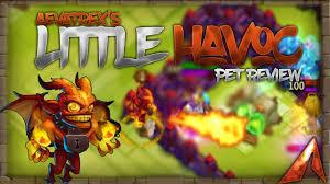 Castle Clash Pumpkin Duke Best Traits by Castle Clash Full Pet Review Little Havoc Legendary Pet Youtube