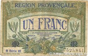 chambre de commerce de nimes 1 franc regionalism and miscellaneous alais arles avignon