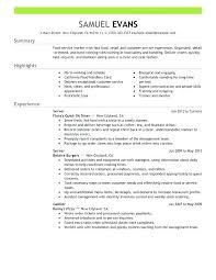 Sample Restaurant Server Resume With Restaurant Waitress Resume