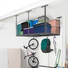 FLEXIMOUNTS Overhead Garage Storage Adjustable Ceiling Storage