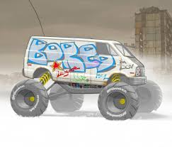 100 Monster Truck Lunch Box Box Truck Series Tamiyalunchbox