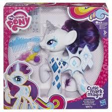 buy my pony cutie magic glow rarity figure