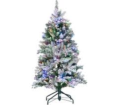 Qvc Christmas Tree Recall by Ed On Air Santa U0027s Best 5 U0027 Frosted Simon Tree By Ellen Degeneres