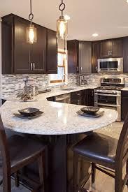 Kitchen Tile Backsplash Ideas With Dark Cabinets by Best 25 Dark Cabinets Ideas Only On Pinterest Kitchen Furniture