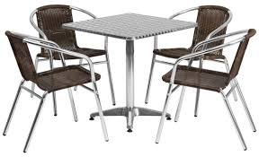 """Flash Furniture Dining Set W/ 28""""H Square Table, Outdoor Rated, 4 Rattan  Chairs Alinum Alloy Outdoor Portable Camping Pnic Bbq Folding Table Chair Stool Set Cast Cats002 Rectangular Temper Glass Buy Tableoutdoor Tablealinum Product On Alibacom 235 Square Metal With 2 Black Slat Stack Chairs Table Set From Chairs Carousell Best Choice Products Patio Bistro W Attached Ice Bucket Copper Finish Chelsea Oval Ding Of 7 Details About Largo 5 Piece Us 3544 35 Offoutdoor Foldable Fishing 4 Glenn Teak Wood Extendable And Bk418 420 Cafe And Restaurant Chairrestaurant"""