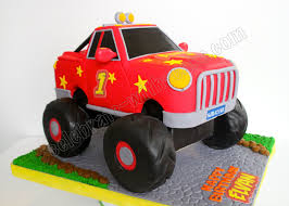 Celebrate With Cake!: Monster Truck Cake Blaze The Monster Truck Themed 4th Birthday Cake With 3d B Flickr Whimsikel Birthday Cake Cakes Decoration Ideas Little Grave Digger Beth Anns Blakes 5th Bday Youtube Turning Stones Blog Trucks Second Generation Design Monster Truck Cakes Hunters Coolest Homemade Colors Party Food Plus Jam