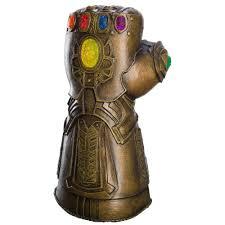 Adult Deluxe Infinity Gauntlet Thanos War MCU Marvel Comics