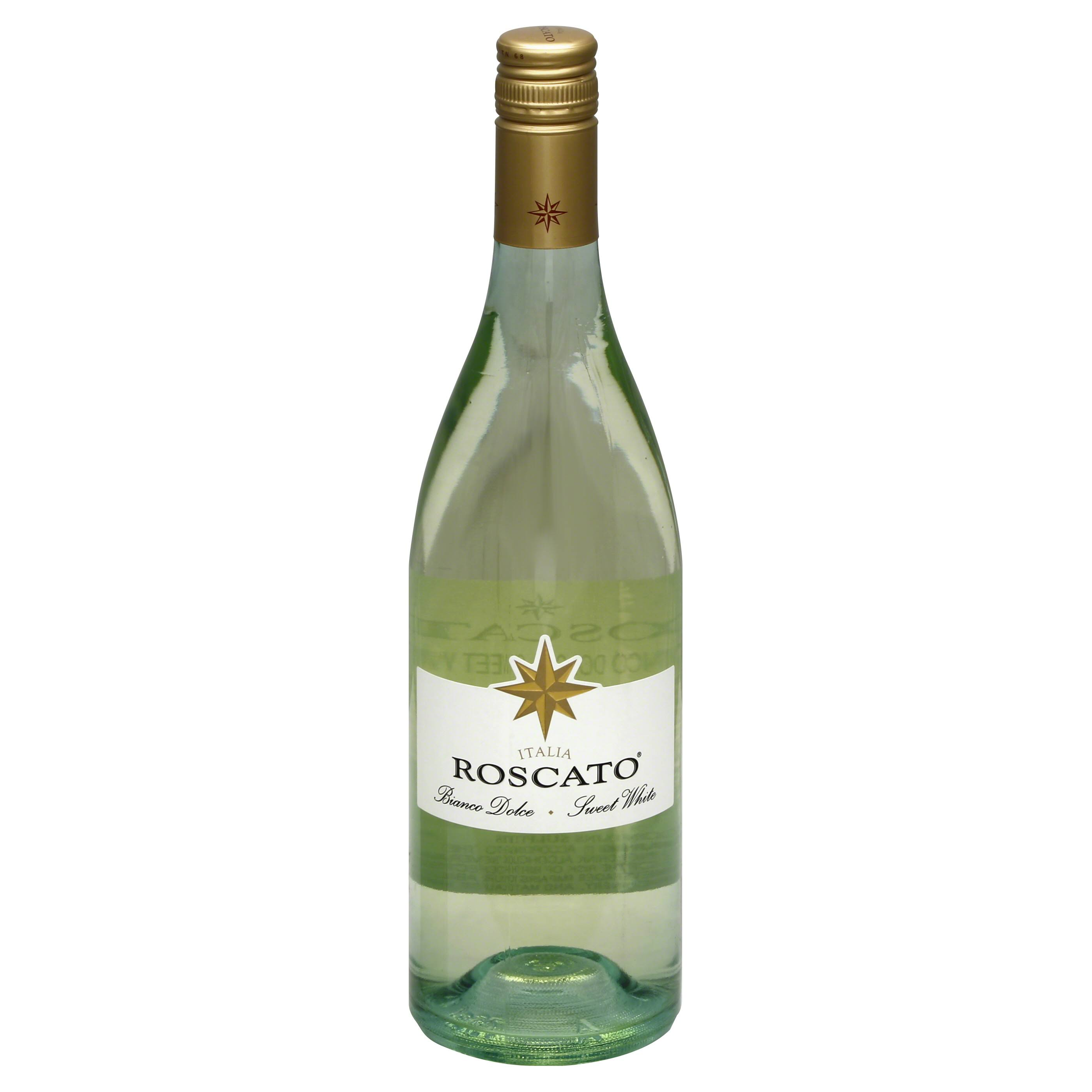 Roscato Sweet White Wine, Italia - 750 ml