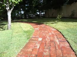 Patio Paver Ideas Pinterest by Up Cycled Old Red Brick Pavers Distinctive Gardens Landscaping