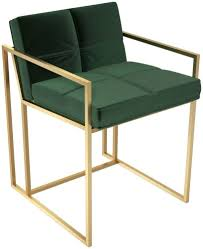Regents Deep Green Velvet Upholstered Dining Chair With Brass ... High End Velvet Button Upholstered Ding Chair Juliettes Interiors Which Is Better Or Leather For Chairs Modway Pose Gray Fabric Eei2577gry The Midcentury West Elm Uk Natalie Modern Classic Black Oak Frame Grey David Gold Leaf With Beige Seat By Carolina Cottage Julia Tufted Back Nail Head Amazoncom Meridian Fniture 783greenc Karina Collection Green Set Of Eight Neoclassical Style For Lotus Charcoal Interiors Online Donghia 8 Local Vault
